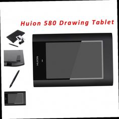 """53.99$  Buy here - http://alirgh.worldwells.pw/go.php?t=32693718535 - """"Hot Sale New HUION 580 8"""""""" X 5"""""""" Graphic Pen Tablets Professional Signature Digital Boards USB Graphics Pen Tablet For PC Black"""" 53.99$"""