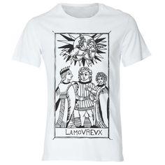 Tshirt  L'Amoreux Tarot de Marseille Tarocchi Gli di DSHIRT14, €12.99