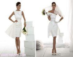 Registry Office Wedding, One Shoulder Wedding Dress, White Dress, Romantic, Wedding Dresses, Nail, Google, Design, Fashion