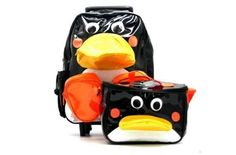 Personalised BABY JAKE school bag kids childrens backpack rucksack nursery Pengy