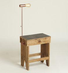 copper lamp table - prostheses + innesti series - mk27 + manuela verga + paolo boatti