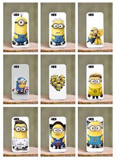 Minions Football Reus Ronaldo PSG Phone Cover Case fits Apple Iphone 4s 5 5c 6 s in Mobile Phones Real Madrid Manchester City Cristiano Ronaldo Marco Reus Zlatan Ibrahimovich Captain America Comics Cartoon