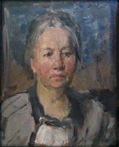 Isaac Israels - Portret Van Johanna Van Gogh-bonger