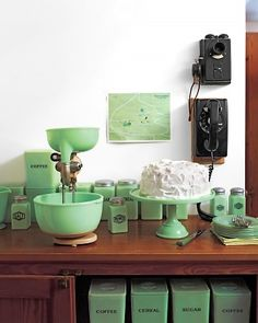 Jadeite kitchen - why do i love this stuff so much?