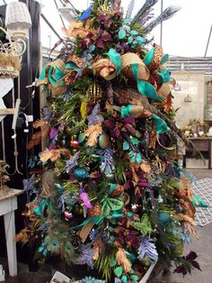 natural looking christmas picks | is a real eye-catcher. I love the natural elements of the floral picks ...