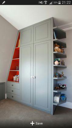 kids room Ceiling Storage, Attic Storage, Bedroom Storage, Shoe Storage, Storage Rack, Storage Shelves, Loft Room, Bedroom Loft, Girls Bedroom