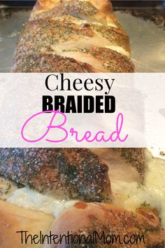 Cheesy braided bread is one of the family favorites, and with a family of 9 to please it must be good. White bread dough, mozzarella cheese, and herbs are all you need for this cheesy dinner side or tasty lunch