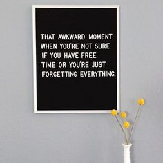 Felt letter board inspiration quotes Forget ad quotes letterboard funny awkwardmoments is part of Message board quotes - Word Board, Quote Board, Message Board, Felt Letter Board, Felt Letters, Felt Boards, Quotes To Live By, Me Quotes, Funny Quotes