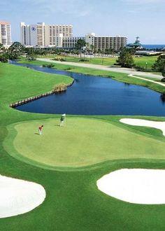 Golf Destin, FL http://www.destinrentalplaces.com/