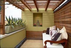 contemporary roof terrace design
