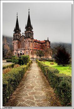 Basílica de Covadonga , Asturias Spain