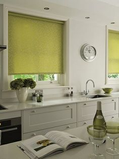 kitchen blinds and curtains ideas - Google Search