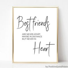 Best Friend Printable Wall Art Friendship Quote Poster Friend Quotes Friend Wall art Modern Wall Art Home Decor Di Best Friend Quotes Funny, Bff Quotes, Happy Quotes, Best Friend Birthday Quotes, Soul Sister Quotes, Happiness Quotes, Positive Quotes, Motivational Quotes, Posters Decor