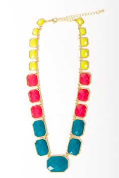 Pop Emerald Necklace $26.00