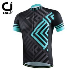 CHEJI 2016 Man Cycling Jersey Maze Short Sleeve Jersey Bike Bicycle Clothing For Spring Summer Autumn CC1455