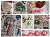 Vintage Indie: Try Something New! Join a Freestyle Embroidery class with me!