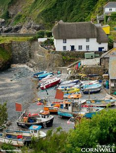 Cadgwith Cove, Cornwall, England                                                                                                                                                                                 More