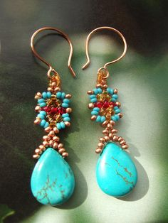 Italian Sky Earrings | Flickr - Photo Sharing!