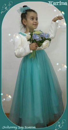 A lovely dress for your princess Girls Dresses, Flower Girl Dresses, Lovely Dresses, Dress For You, Tulle, Victorian, Princess, Wedding Dresses, Skirts