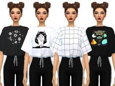 Found in TSR Category 'Sims 4 Female Everyday' Maxis, Sims 4 Mods Clothes, Sims 4 Clothing, Sims Mods, The Sims 4 Pc, Sims 4 Mm, Vêtement Harris Tweed, Sims 4 Children, Children Clothing