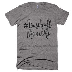 Ballgames every weekend, practice all week, looking for cleats, carrying ball bags, the baseball mom life is the best life! (Diy Shirts For Football Games) Softball Shirts, Softball Mom, Sports Shirts, Basketball Shirts For Moms, Baseball Mom Shirts Ideas, Basketball Rules, Basketball Socks, Basketball Hoop, Basketball Jersey