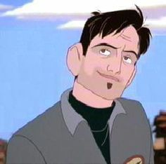 Dean McCoppin - character in Iron Giants movie voiced by Harry Connick, Jr.