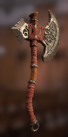 Fantasy Sword, Fantasy Weapons, Fantasy Art, Vikings, Tattoo Guerreiro, Ninja Weapons, Battle Axe, Medieval Weapons, Swords And Daggers