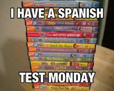"""most of the Spanish classes I've taken literally teach Dora level. """"What's blue?"""" """"Azul!"""" that's it. That's today's lesson."""