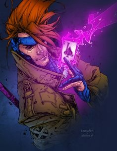 Gambit By Kenneth Rocafort