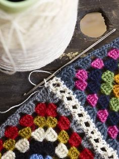 Granny Square Joining - Arne and Carlos