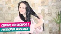 CABELOS RESSECADOS E DANIFICADOS NUNCA MAIS!!! por Julia Doorman - YouTube
