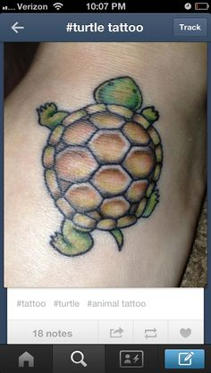 Turtle tattoo (gonna get this in memory of my great grandfather)