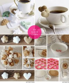 DIY - Sugar Cubes. Step-by-Step Tutorial.