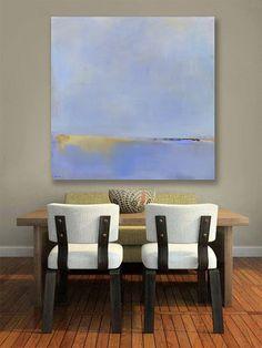 Minimalist Abstract Landscape Canvas Print, Large Giclee Print, Modern Home, Modern Art, Coastal Decor, New England, Interior Design, Cape Cod, New England Coast