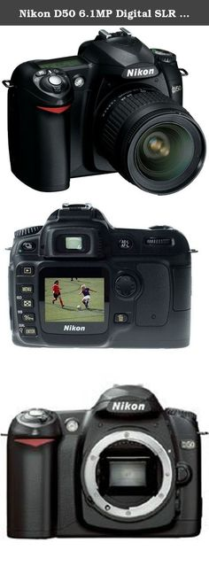 Nikon D50 6.1MP Digital SLR Camera with 28-80mm f3.3-5.6G AF Nikkor Zoom Lens. The Nikon D50 is easy to take with you anywhere you go! From its inviting body contours to its easily accessible controls, this is a camera that makes picture taking satisfying and fun! 2 Inch Color LCD screen Self-Timer - Electronically controlled timer with 2 to 20 seconds duration Storage (Number of frames per 256MB SD Memory Card, image size L) - RAW approx. 33, FINE approx. 70NORMAL approx. 137BASIC…