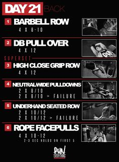 One of my favorites, back day. Since we had heavy squats yesterday, we will start today's workout with bent rows instead of deads. We'll keep this in the 8-10 r