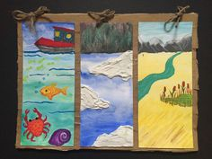 Grade 2 Canadian CommunitiTriptych
