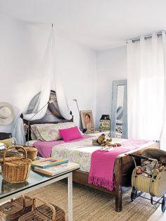Dormitorio infantil con encanto campestre
