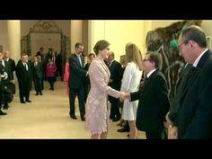 Los reyes don Felipe y doña Letizia han comenzado su viaje de estado a Portugal