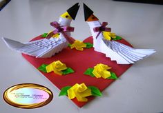 3d Origami Fish Paper Decorative Item Handmade Gift Idea Cake Topper This Is Made Of Approximately 245