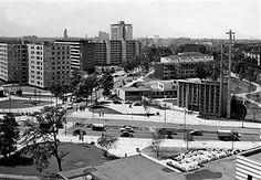 Hansaviertel Berlin - Übersicht der neuerrichteten Wohnbauten 1958