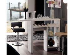 Mueble bar COSMOPOLITAIN - MDF lacado blanco