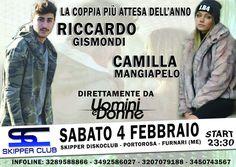 Serata di coppia sabato 4 Febbraio per #rickygissss e #mapina alla #discoteca Skypper in provincia di Messina.  _______________________________ #danieledefalcomanagement #disco #tronoclassico #ued #canale5