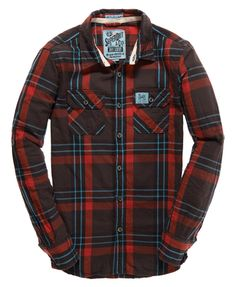 Superdry Lumberjack Twill Shirt - Men's Shirts