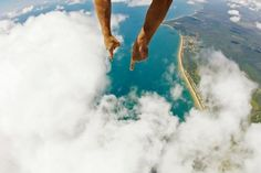 Skydive over the Great Barrier Reef by Max Coquard