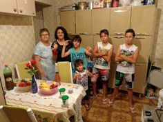 Família reunida no natal 2014