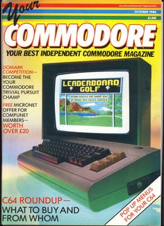 Your Commodore, October 1986