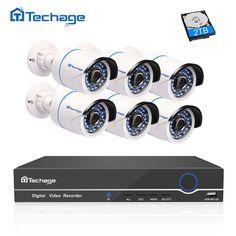 OWSOO 16CH 1080P P2P Cloud NVR 8pcs 1080P Waterproof Bullet IP Camera CCTV Kit
