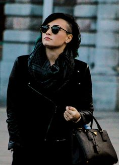 demi lovato out in antwerp on november 20. (x)
