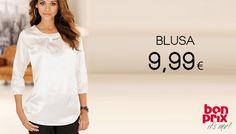 Blusa manica a 3/4 #Bonprix #cclaromanina #glamour #sales #woman